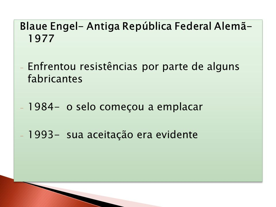 Blaue Engel- Antiga República Federal Alemã- 1977