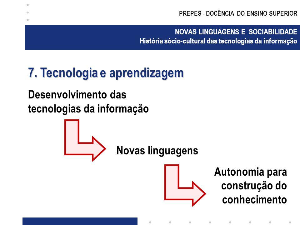 7. Tecnologia e aprendizagem
