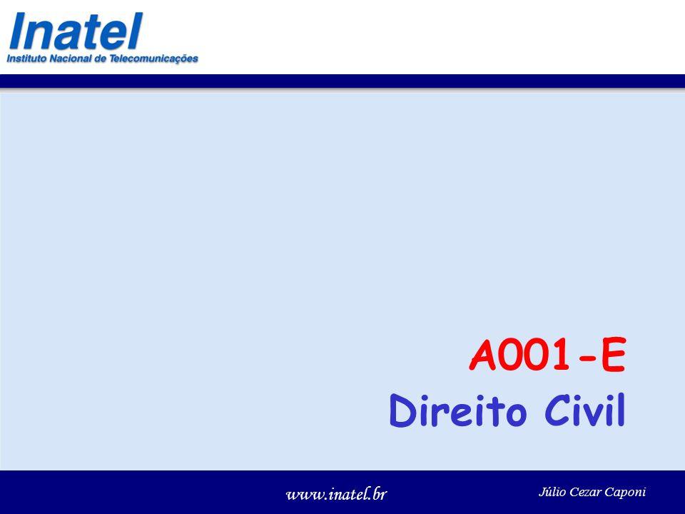 A001-E Direito Civil Júlio Cezar Caponi