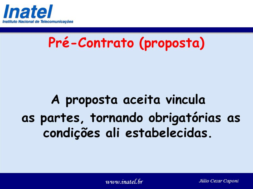 Pré-Contrato (proposta)