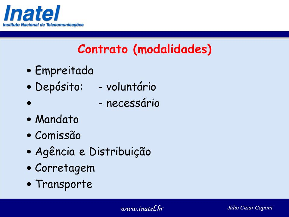 Contrato (modalidades)