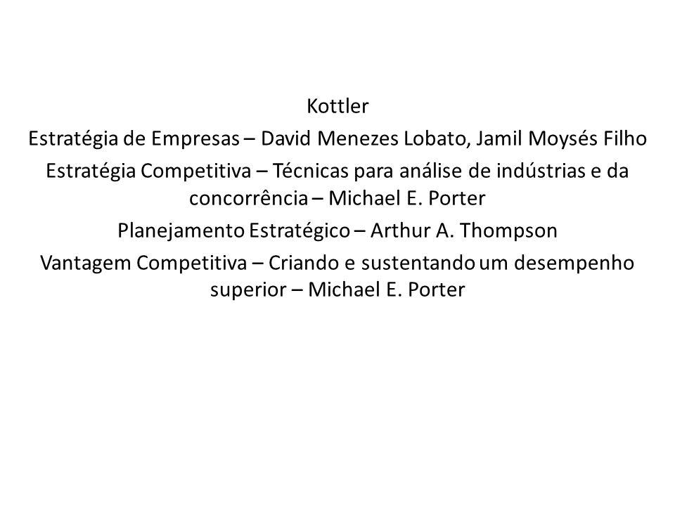 Estratégia de Empresas – David Menezes Lobato, Jamil Moysés Filho