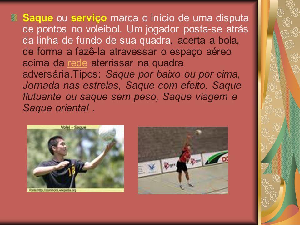 Saque ou serviço marca o início de uma disputa de pontos no voleibol