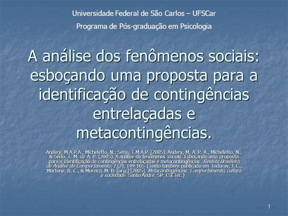Universidade Federal de São Carlos – UFSCar
