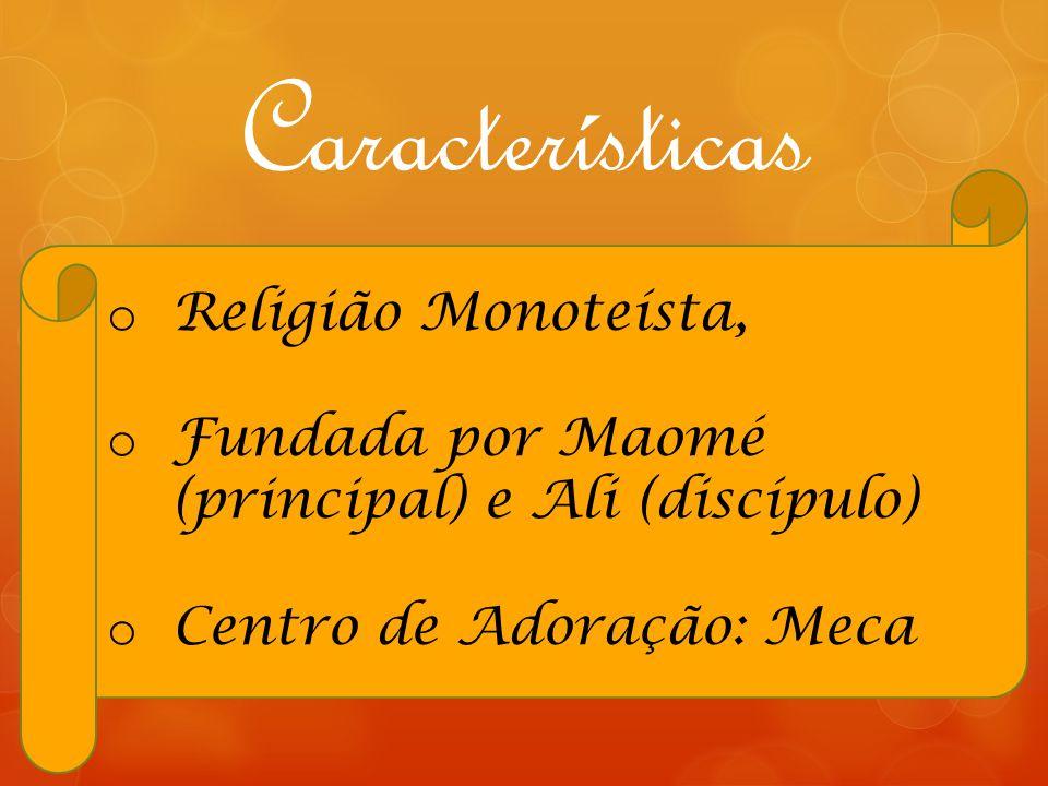 Características Religião Monoteísta,