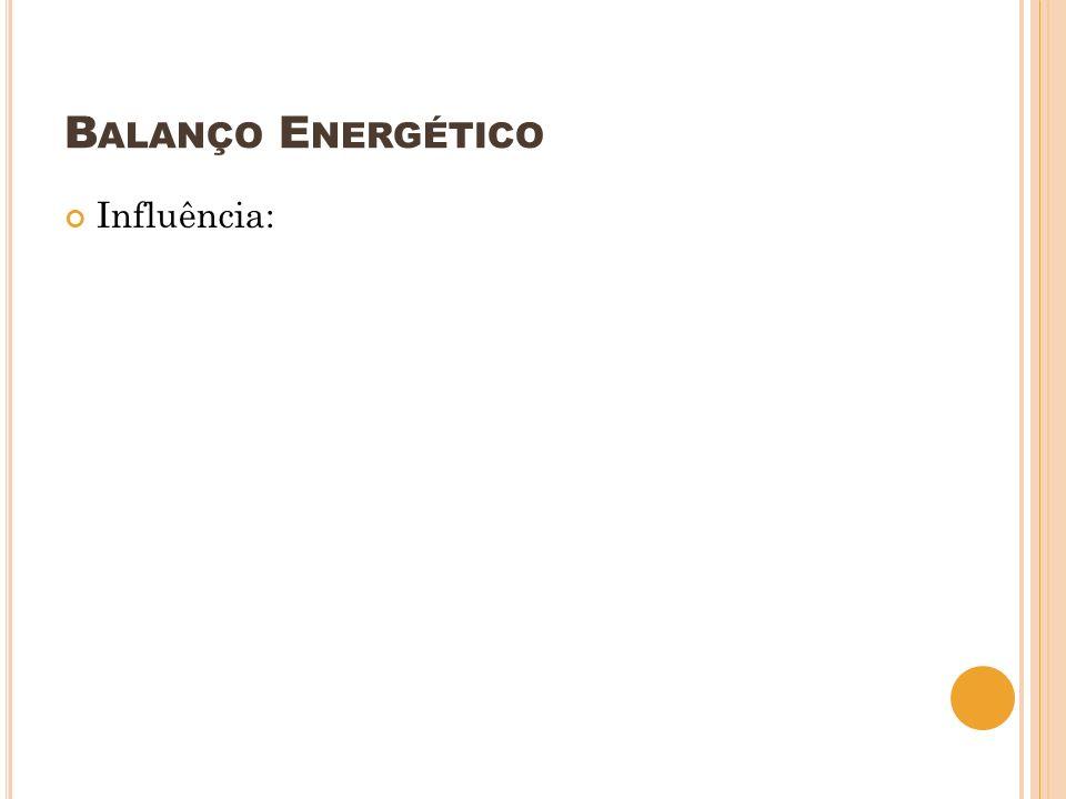 Balanço Energético Influência: