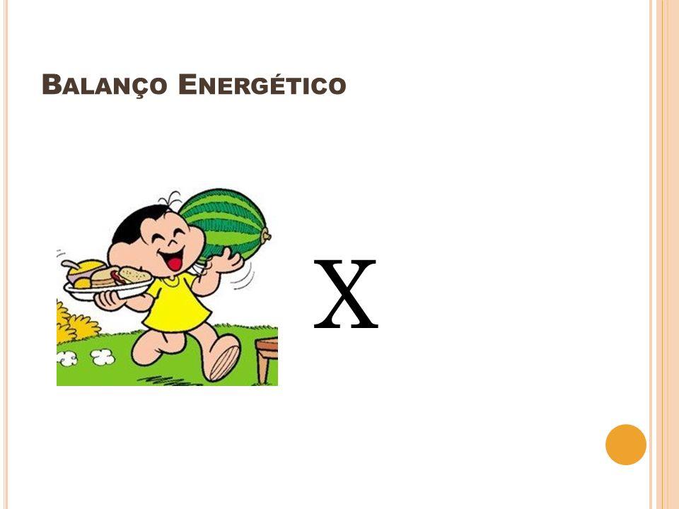 Balanço Energético X