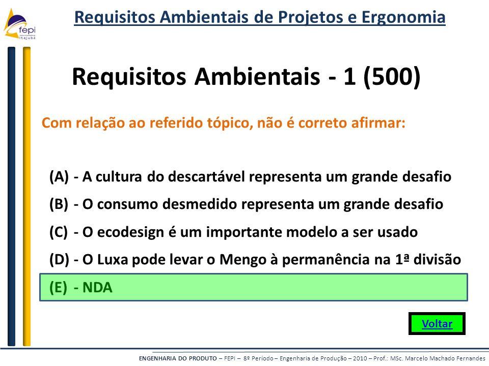 Requisitos Ambientais - 1 (500)