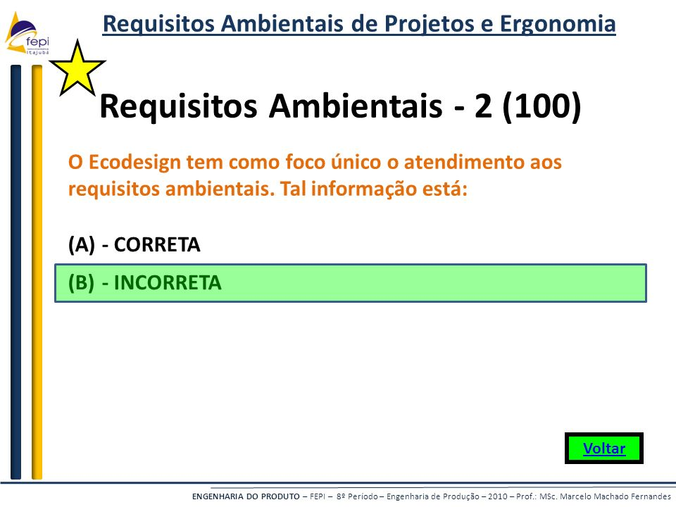 Requisitos Ambientais - 2 (100)