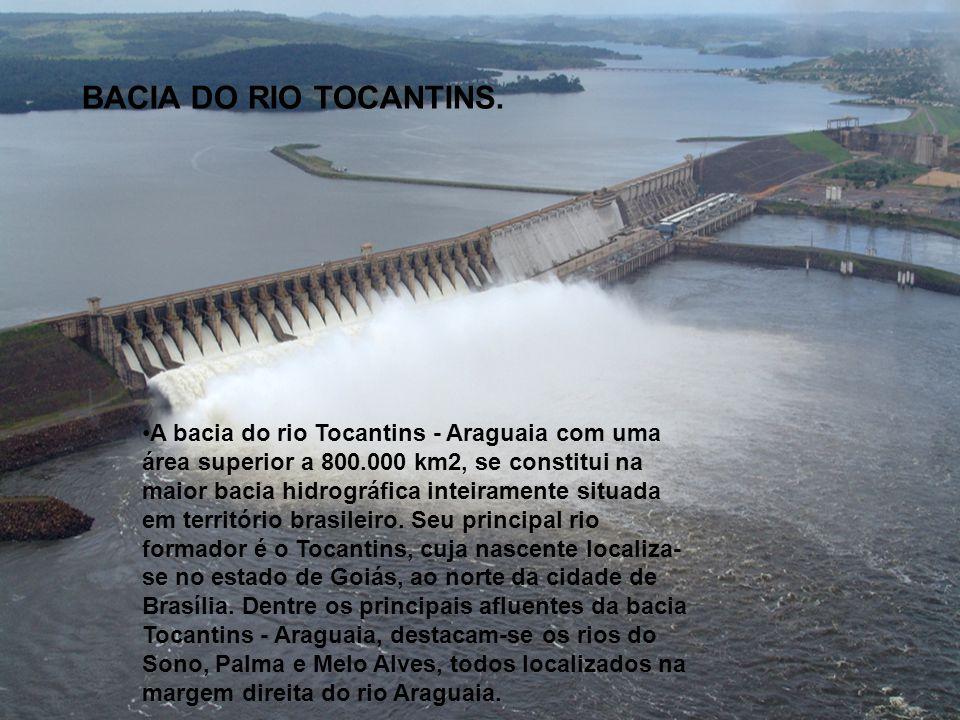 BACIA DO RIO TOCANTINS.