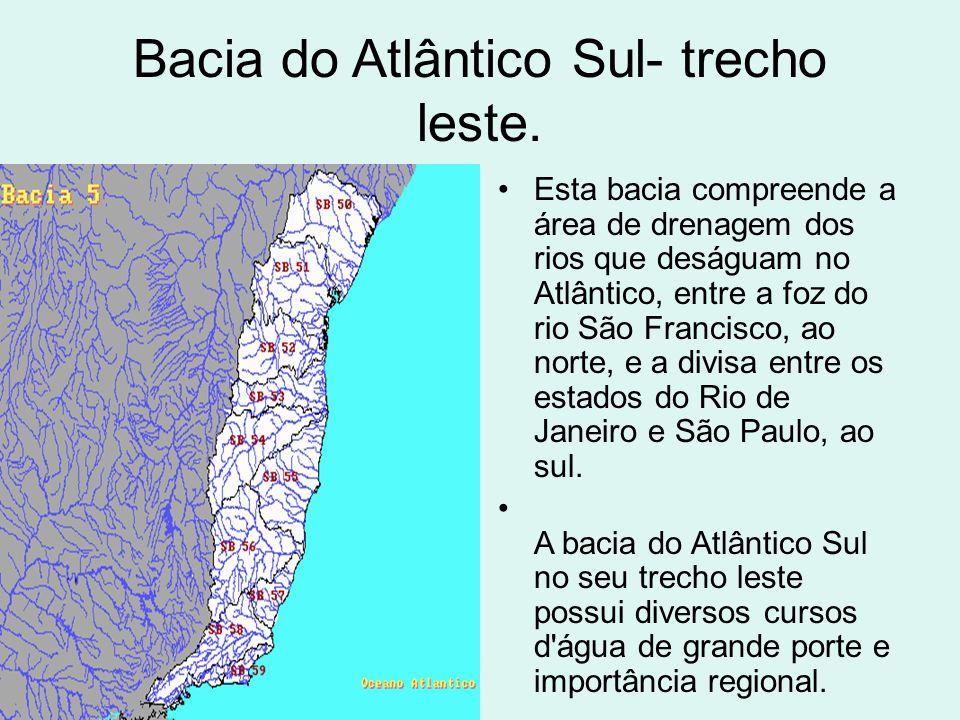 Bacia do Atlântico Sul- trecho leste.