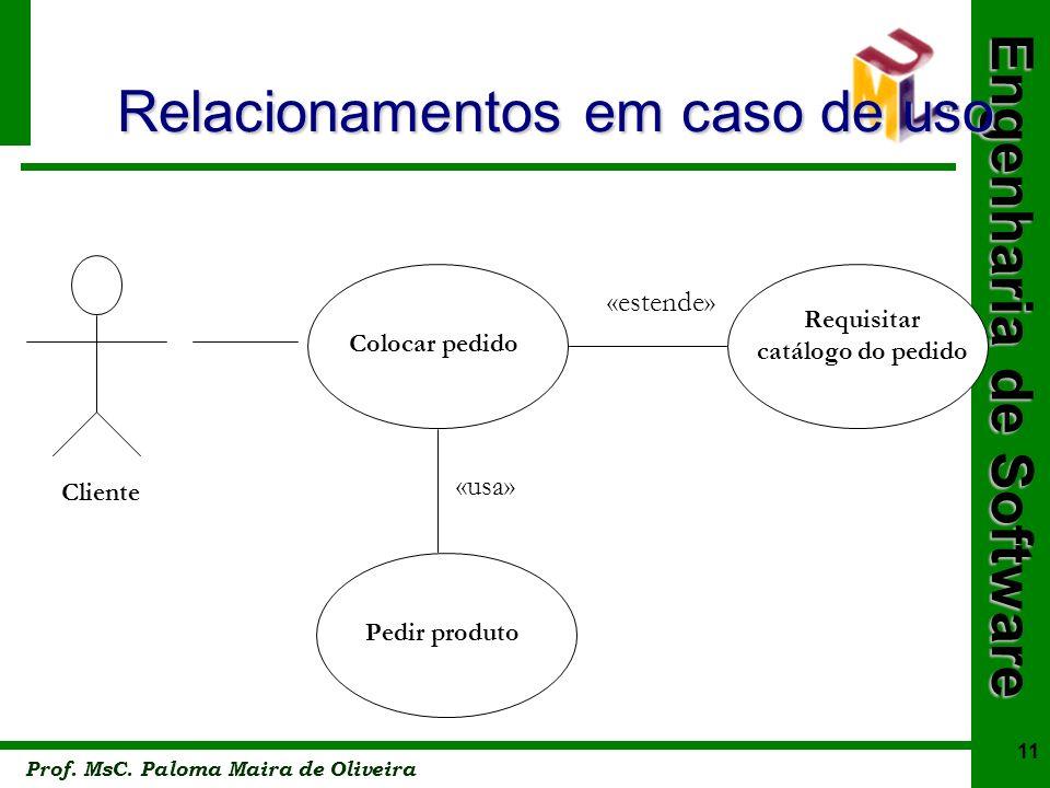 Relacionamentos em caso de uso
