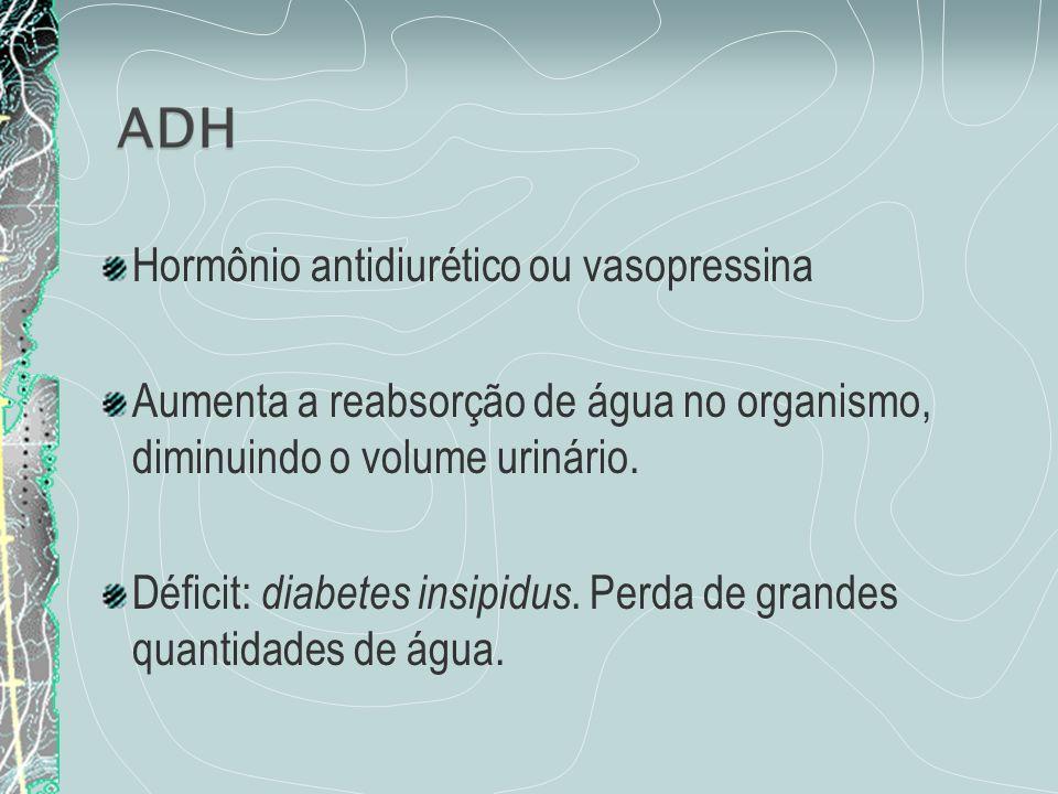 Hormônio antidiurético ou vasopressina
