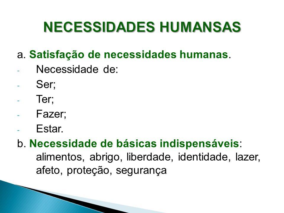 NECESSIDADES HUMANSAS