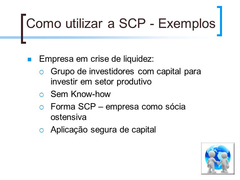Como utilizar a SCP - Exemplos