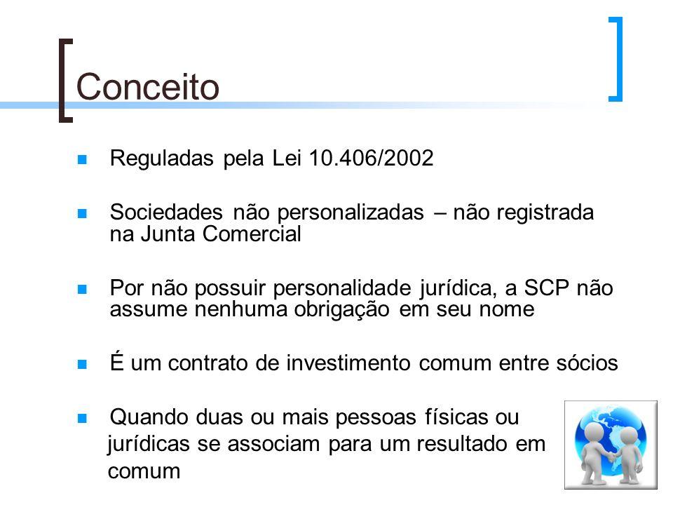 Conceito Reguladas pela Lei 10.406/2002