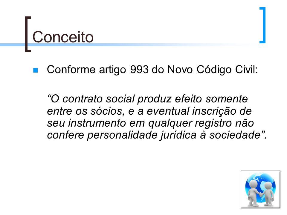 Conceito Conforme artigo 993 do Novo Código Civil: