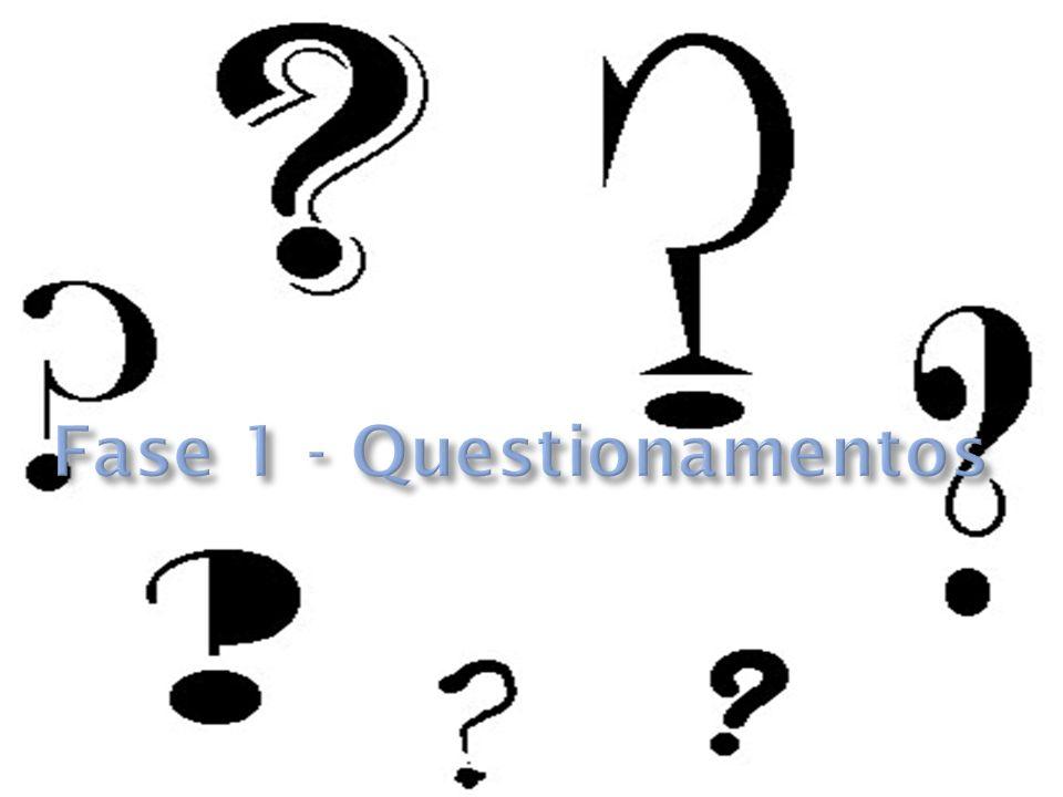 Fase 1 - Questionamentos