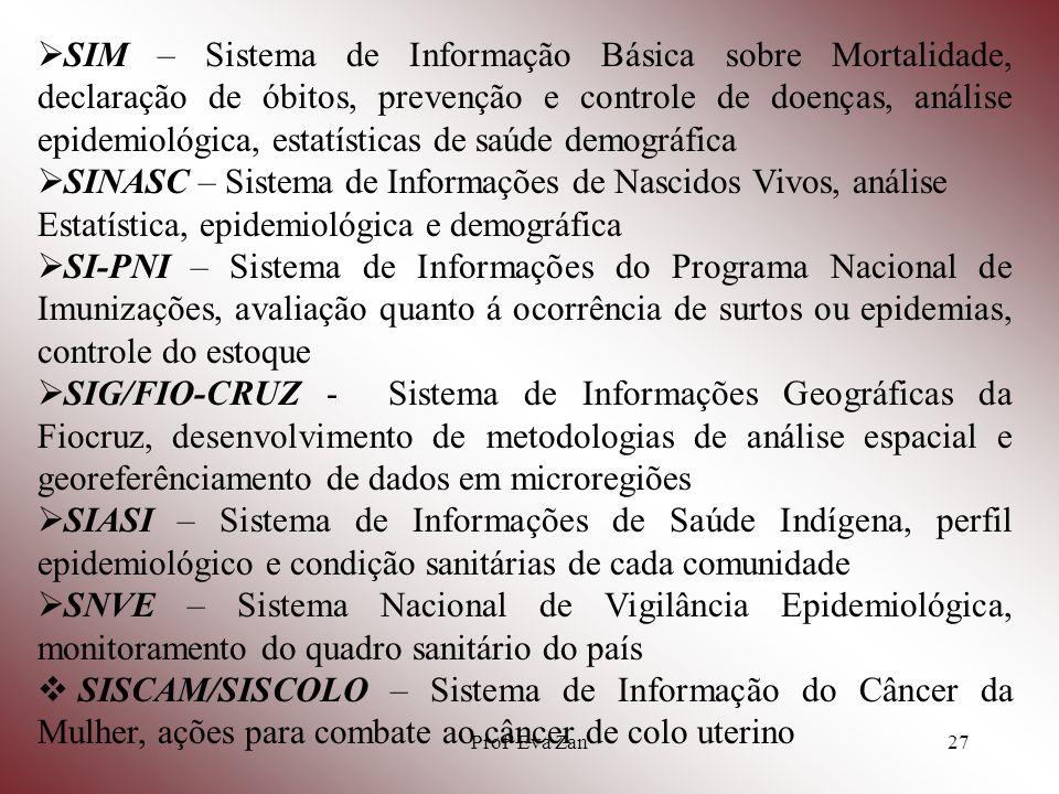 SINASC – Sistema de Informações de Nascidos Vivos, análise