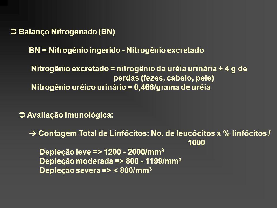  Balanço Nitrogenado (BN)