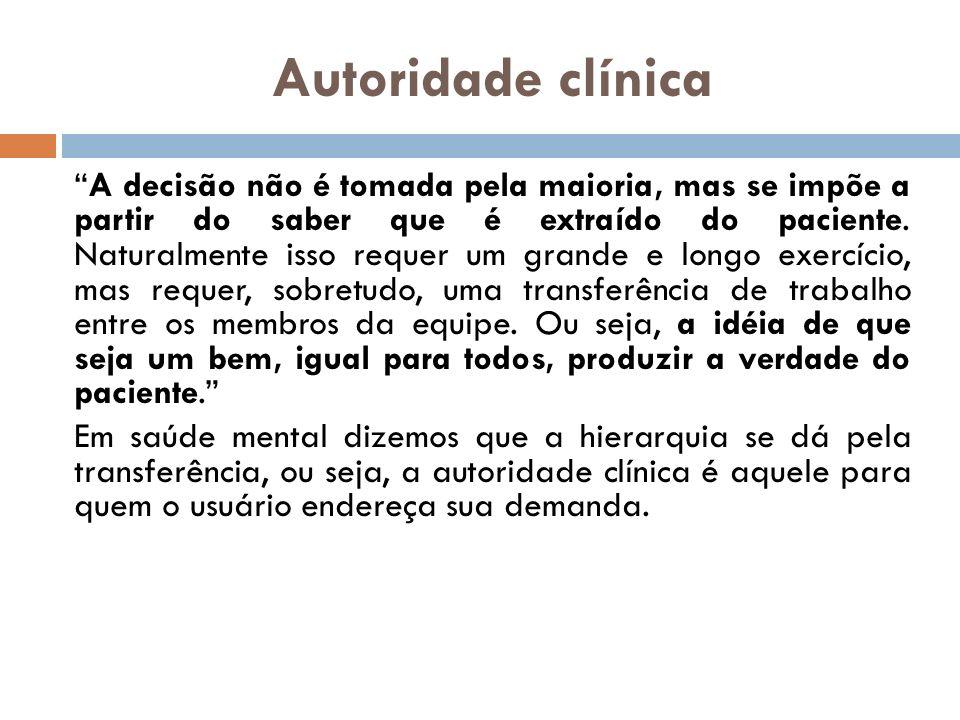Autoridade clínica