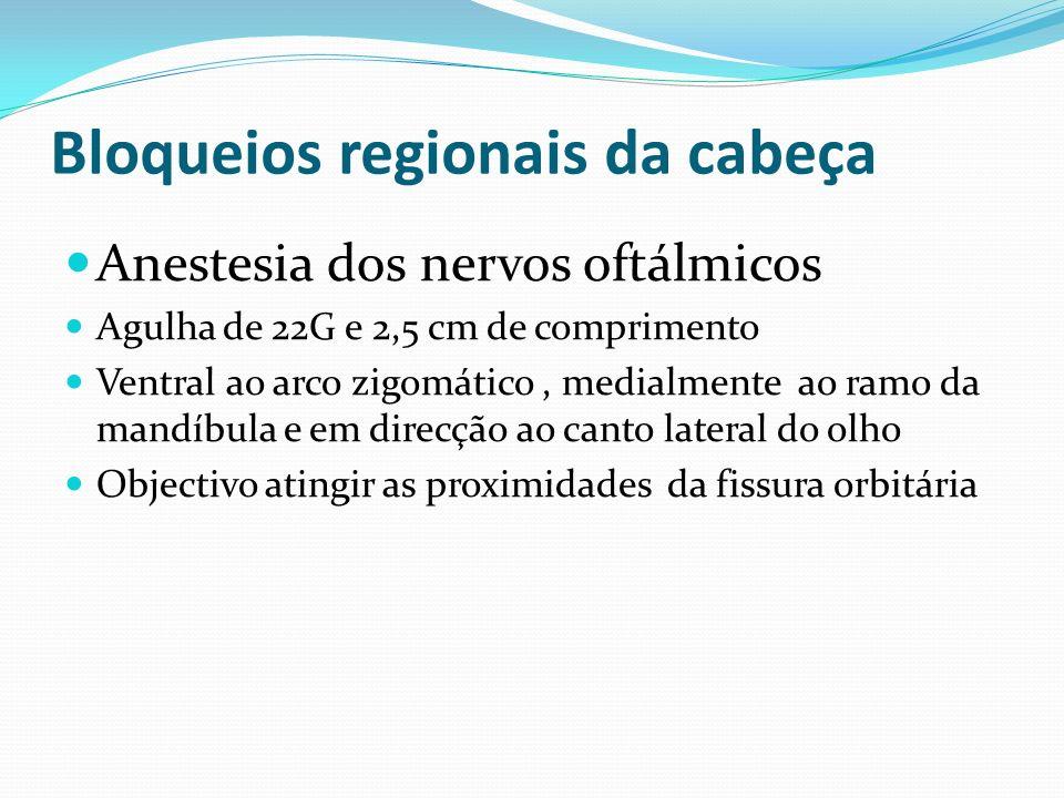 Bloqueios regionais da cabeça