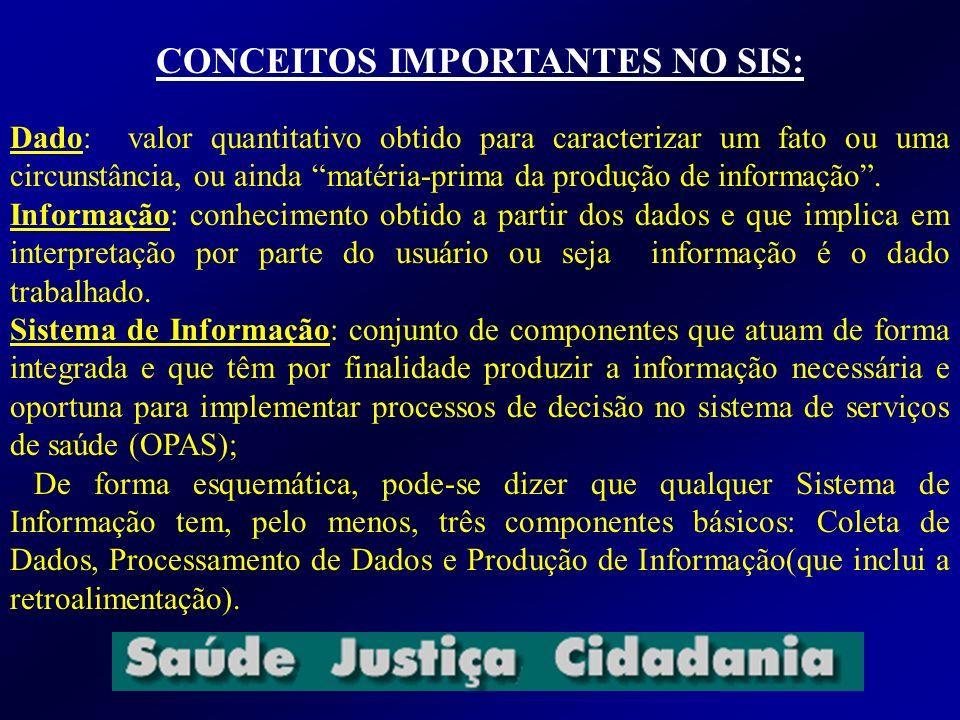 CONCEITOS IMPORTANTES NO SIS: