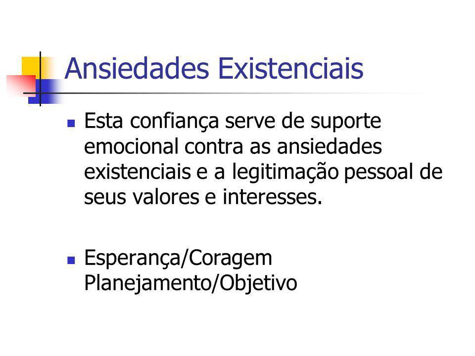 Ansiedades Existenciais