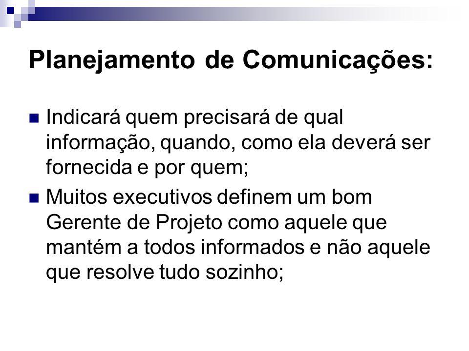 Planejamento de Comunicações: