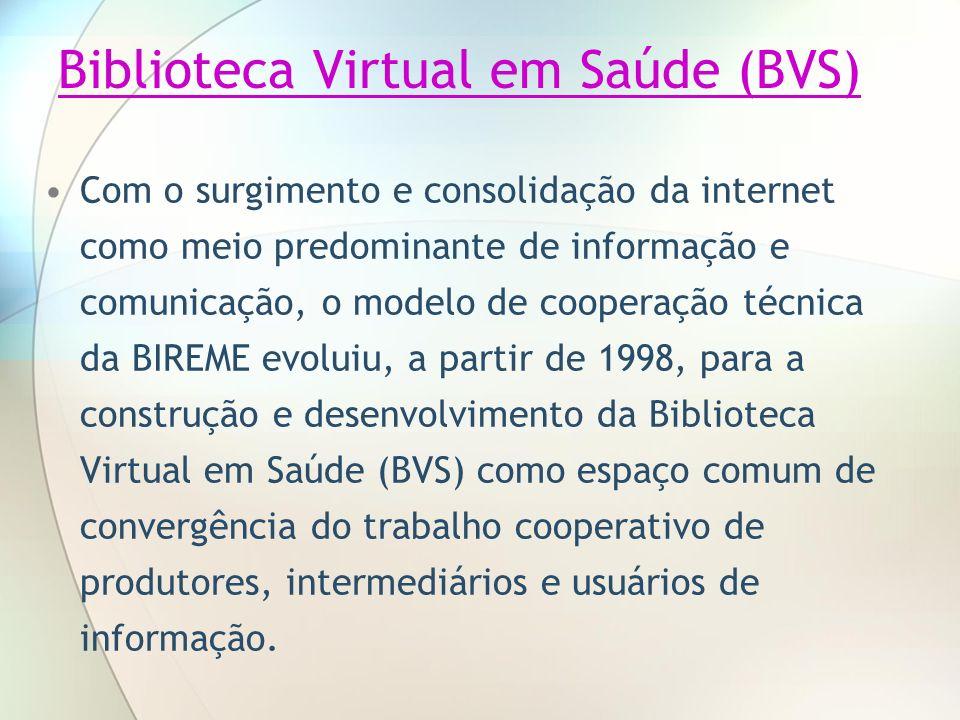 Biblioteca Virtual em Saúde (BVS)
