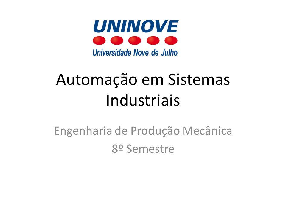 Automação em Sistemas Industriais