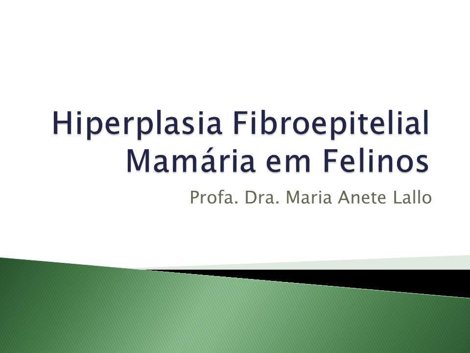 Hiperplasia Fibroepitelial Mamária em Felinos