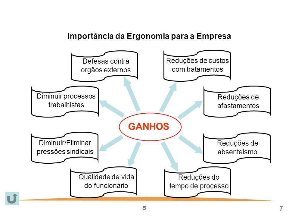 Importância da Ergonomia para a Empresa