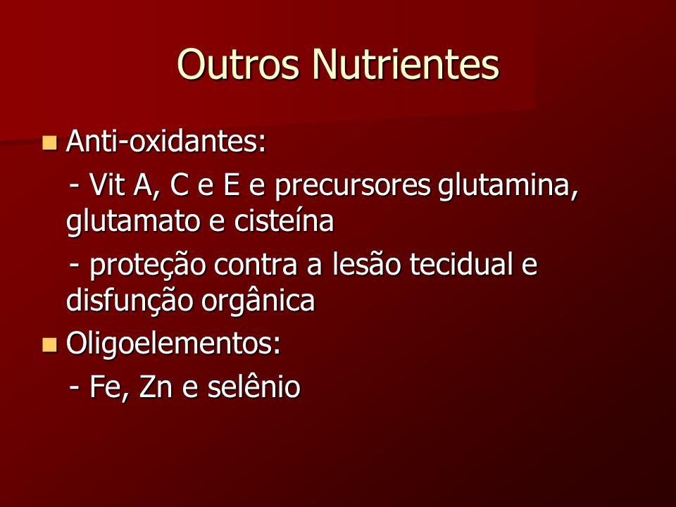 Outros Nutrientes Anti-oxidantes: