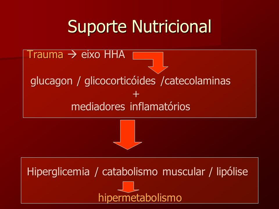 Suporte Nutricional Trauma  eixo HHA