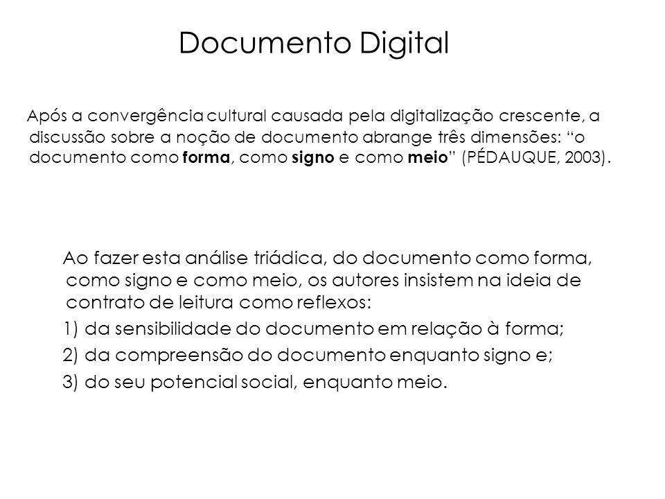 Documento Digital