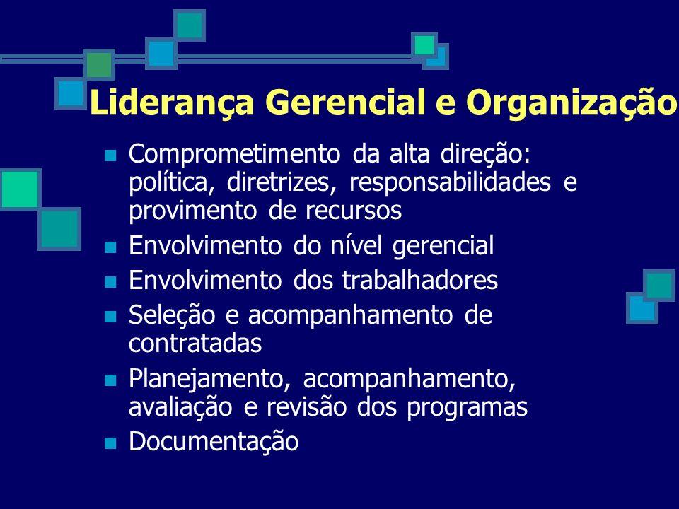 Liderança Gerencial e Organização
