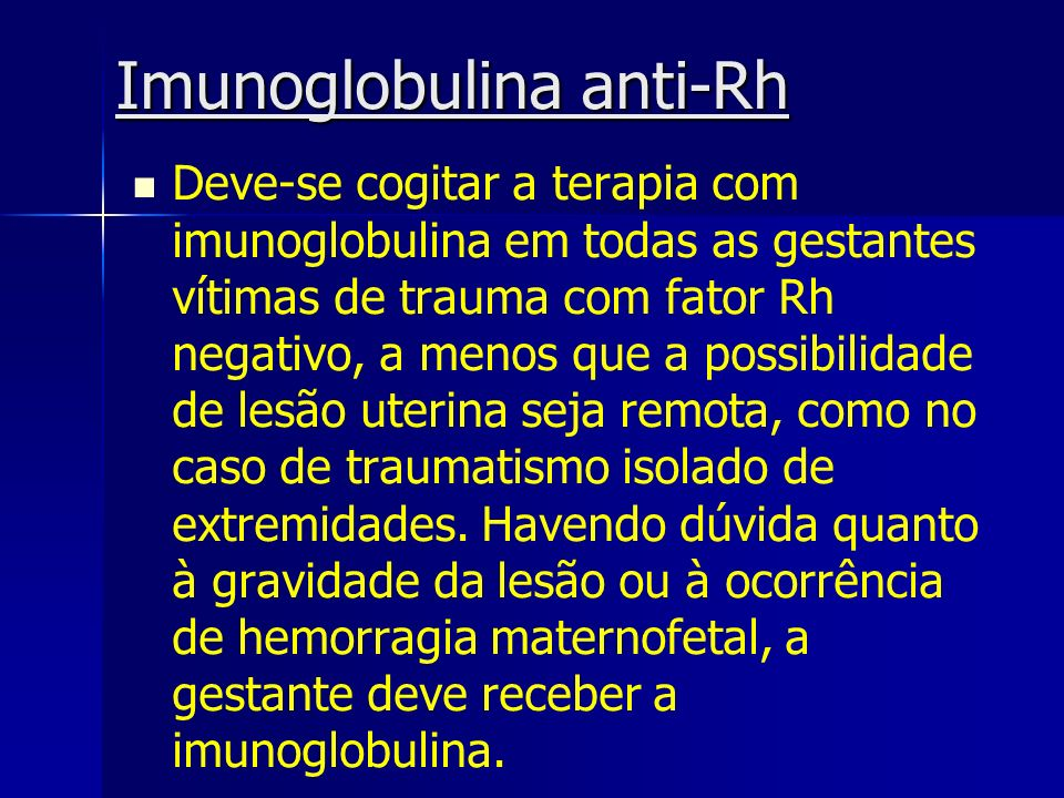 Imunoglobulina anti-Rh