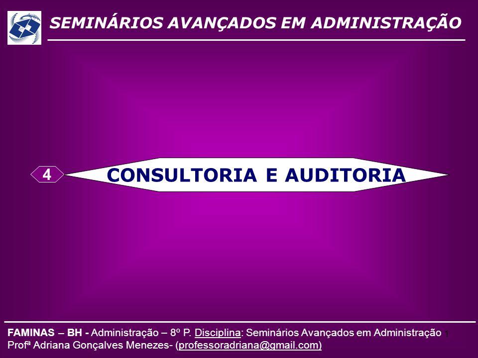 CONSULTORIA E AUDITORIA