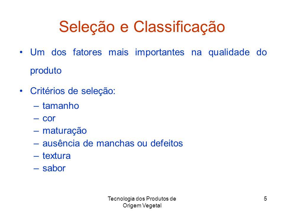 Seleção e Classificação