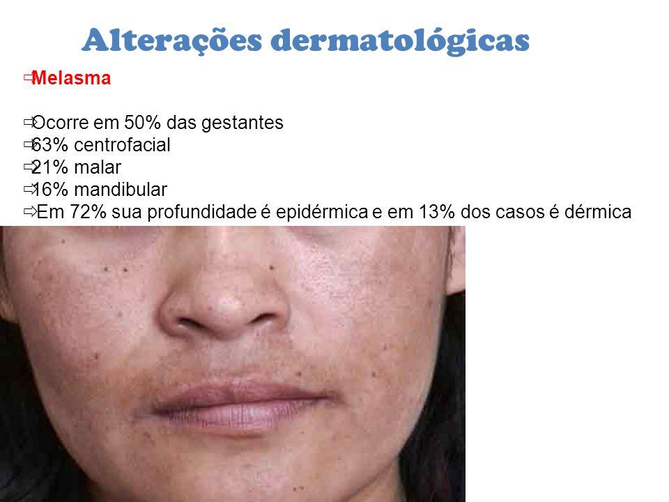 Alterações dermatológicas
