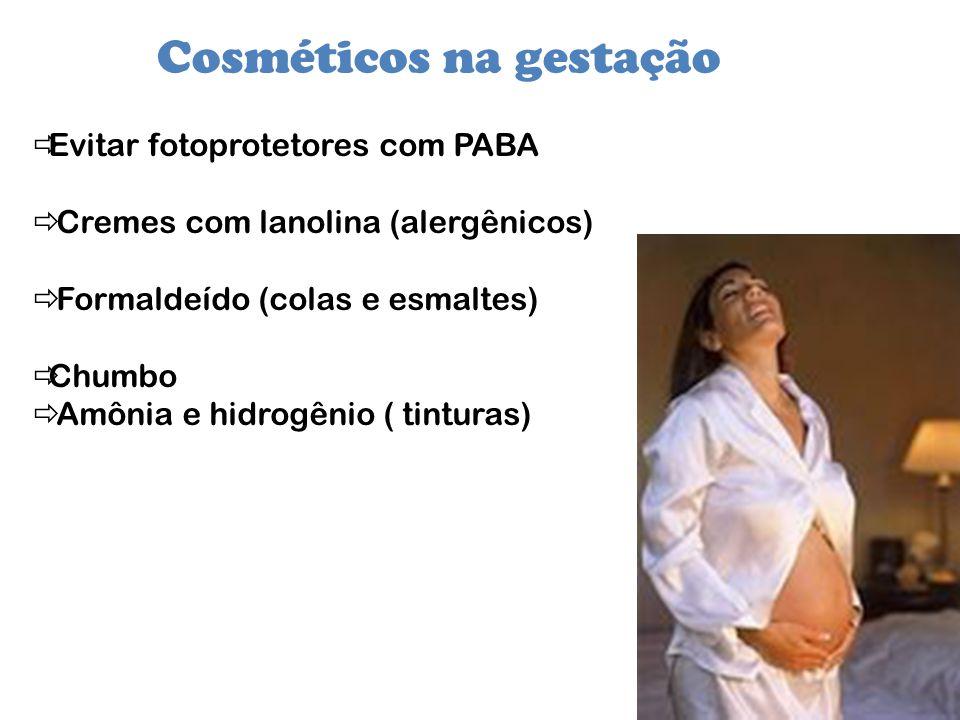 Cosméticos na gestação