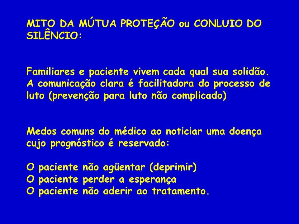 MITO DA MÚTUA PROTEÇÃO ou CONLUIO DO SILÊNCIO: