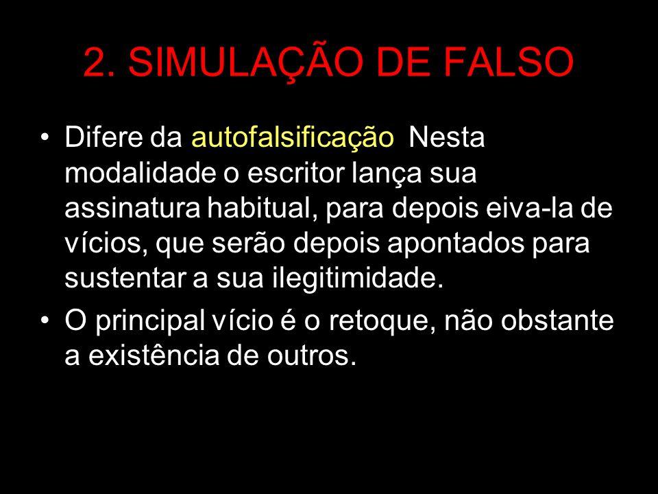 2. SIMULAÇÃO DE FALSO