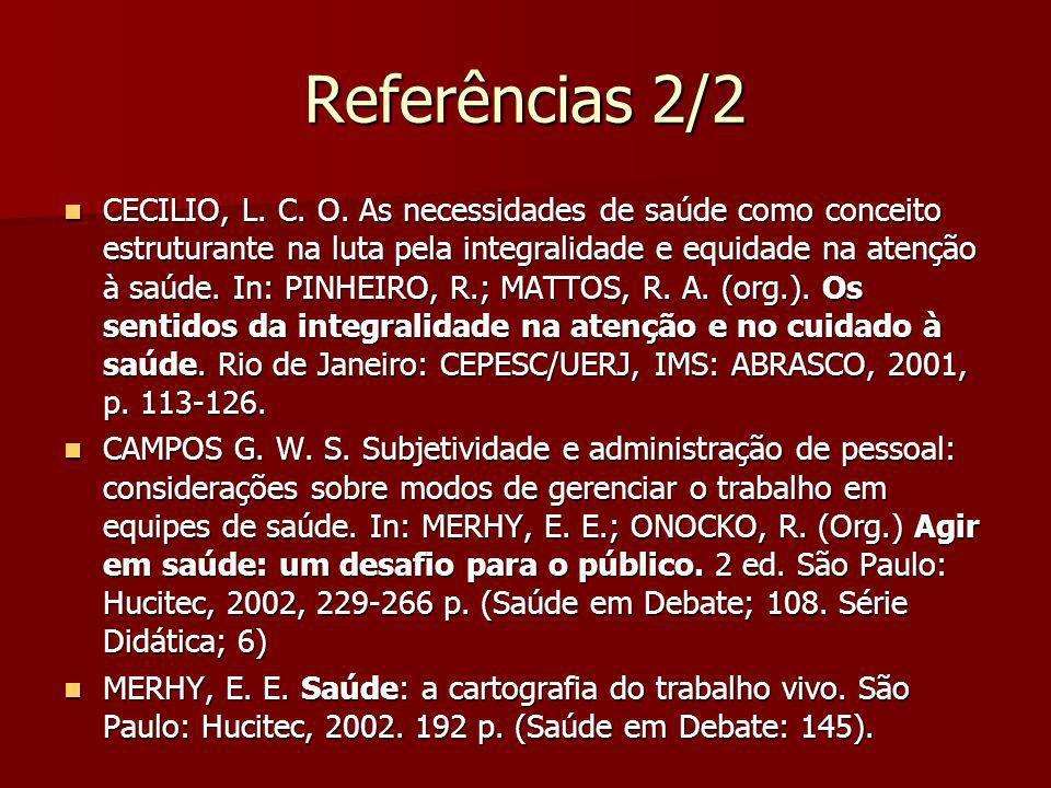 Referências 2/2