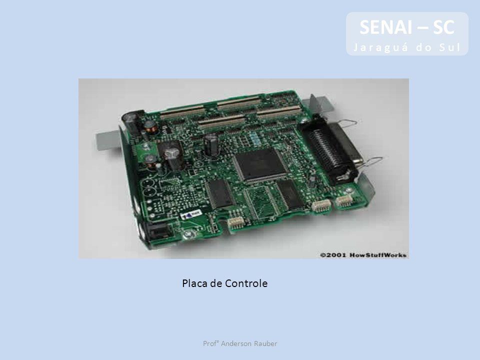 SENAI – SC J a r a g u á d o S u l Placa de Controle