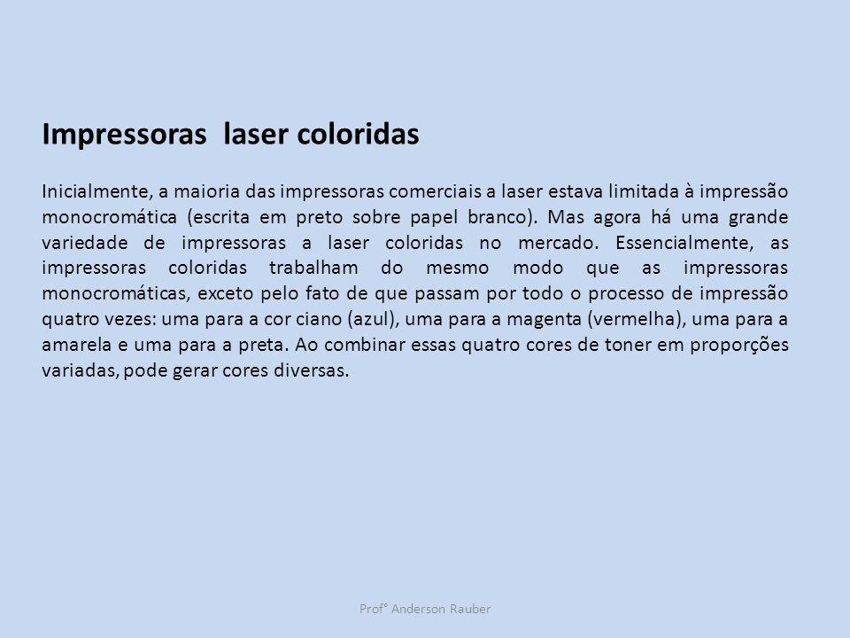 Impressoras laser coloridas