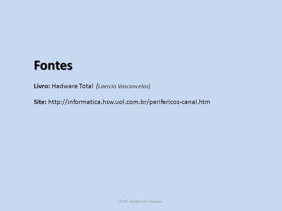 Fontes Livro: Hadware Total (Laercio Vasconcelos)