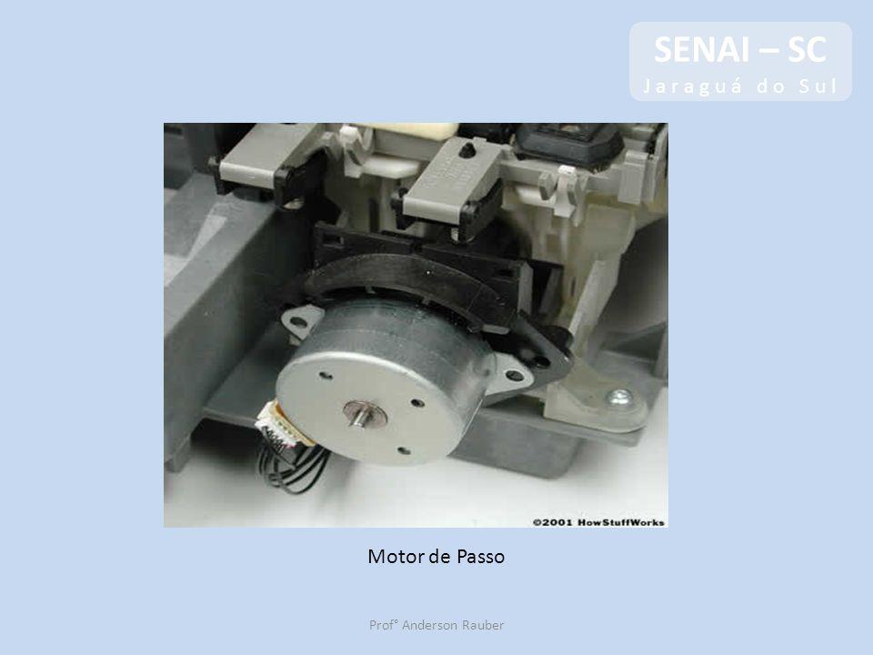 SENAI – SC J a r a g u á d o S u l Motor de Passo