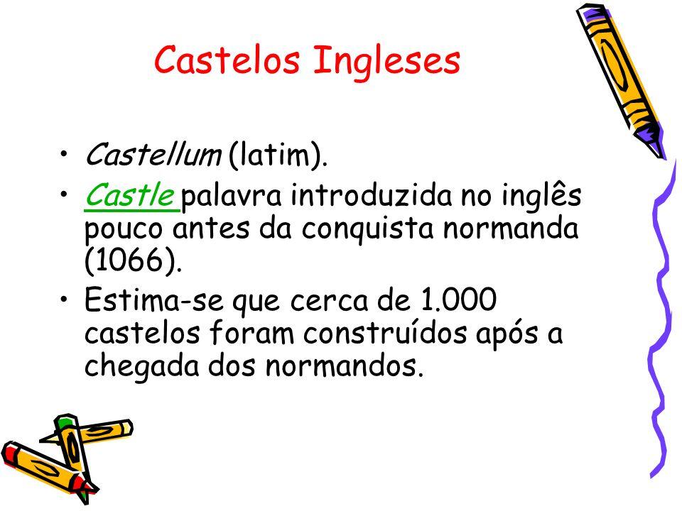 Castelos Ingleses Castellum (latim).